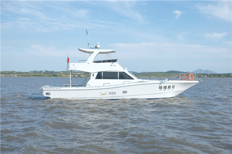 JY500 high speed planing boat
