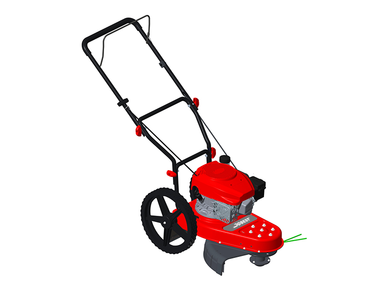 Gas-Walk-Behind High-Wheeled String Trimmer