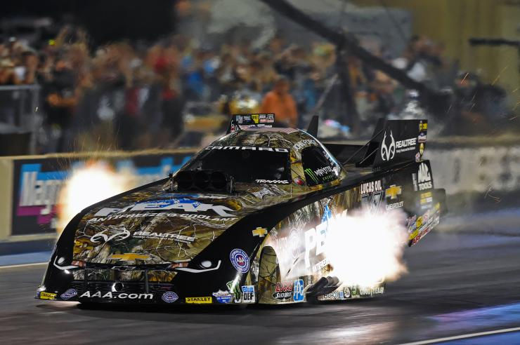 PEAK/Realtree Funny Car Takes 2 out of 3 on NHRA Western Swing