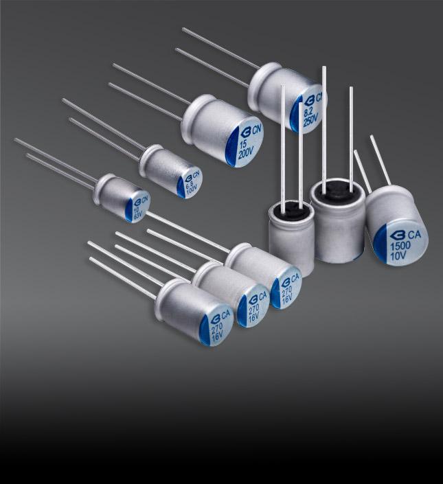 导电高分子固态电容器