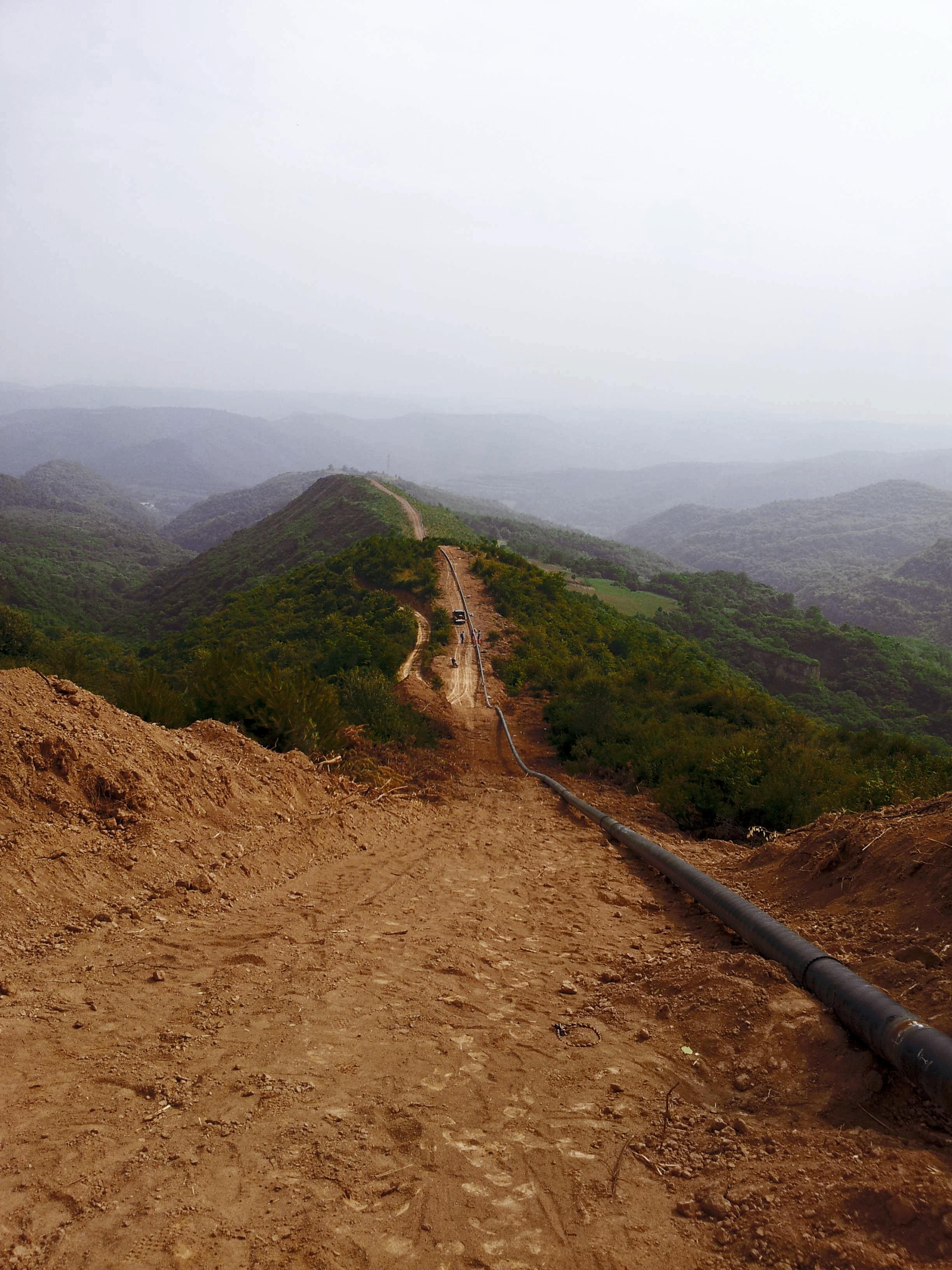 陜西靖西三線黃陵天然氣長輸管道工程