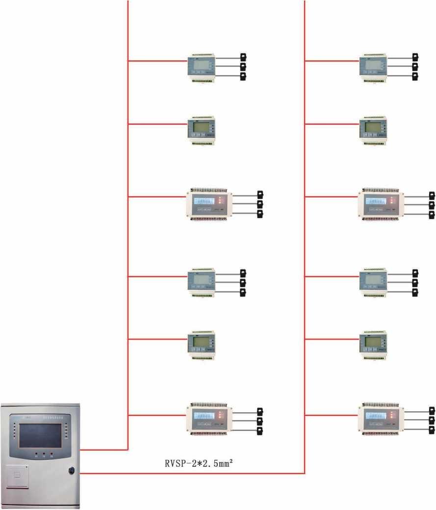 消防設備電源監控系統圖