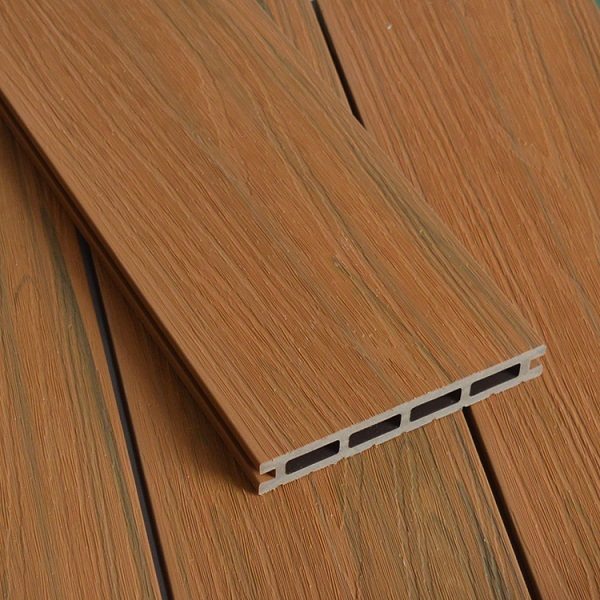 WPC Co-extrusion Decking W140*T21mm Teak