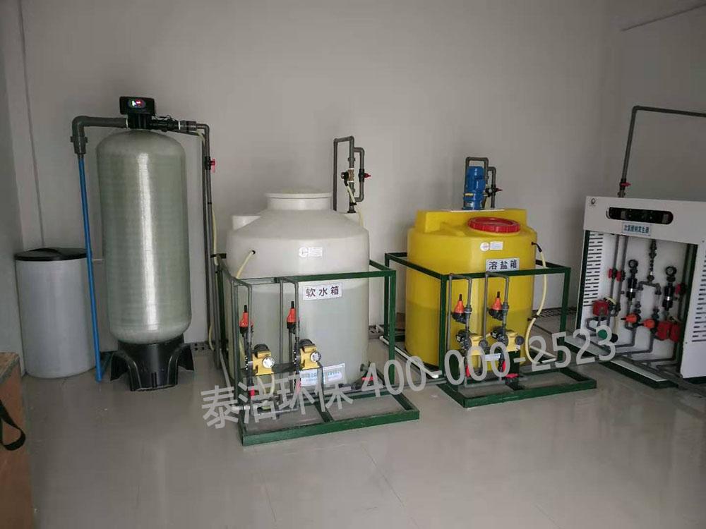 重慶自來水廠采用我司次氯酸鈉發生器,全自動加藥設備進行水消毒