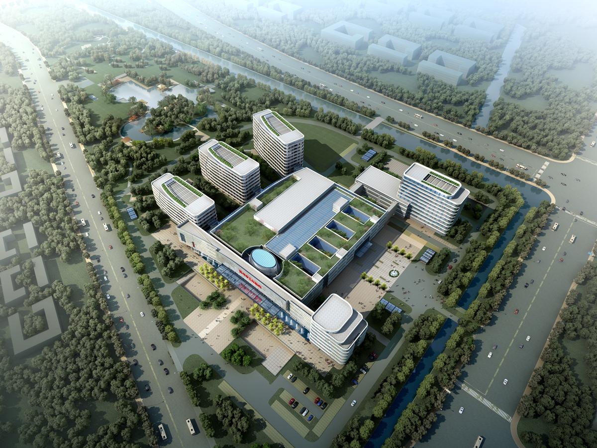 杭州之江醫院鳥瞰圖