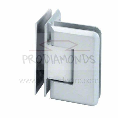 Heavy Duty Beveled Edges 90 Degree Glass to Glass Shower Door Hinge