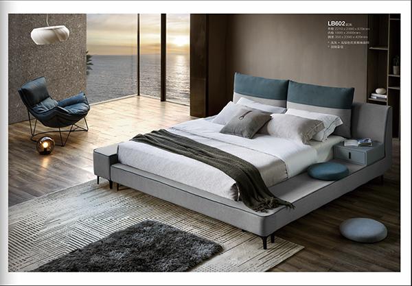 时尚软体岩板---卧房