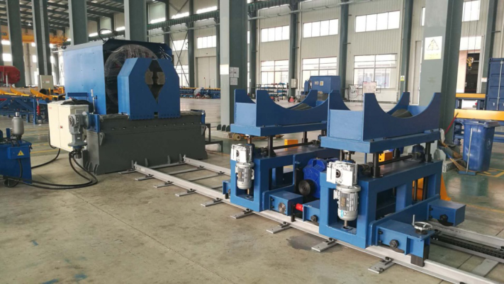 CNC high speed end beveling machine