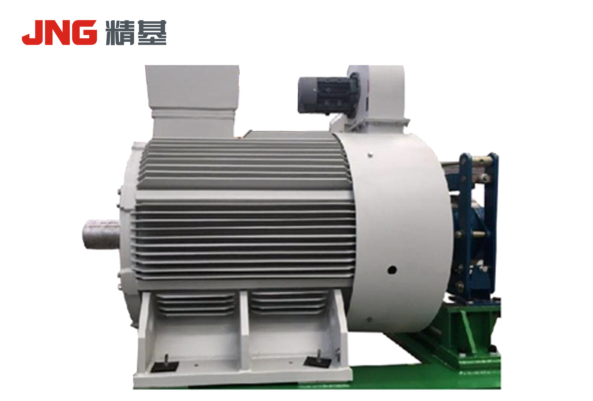 Three-phase permanent magnet synchronous motor for ceramic ball mill