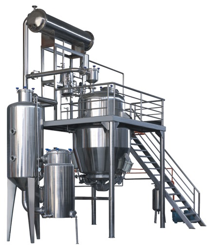 High Efficiency Low Temperature Extraction and Concentration Production Line