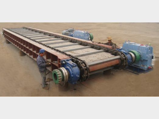 霍林河露天煤業輸煤系統破碎站刮板機2