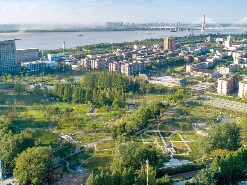 倒口湖公園