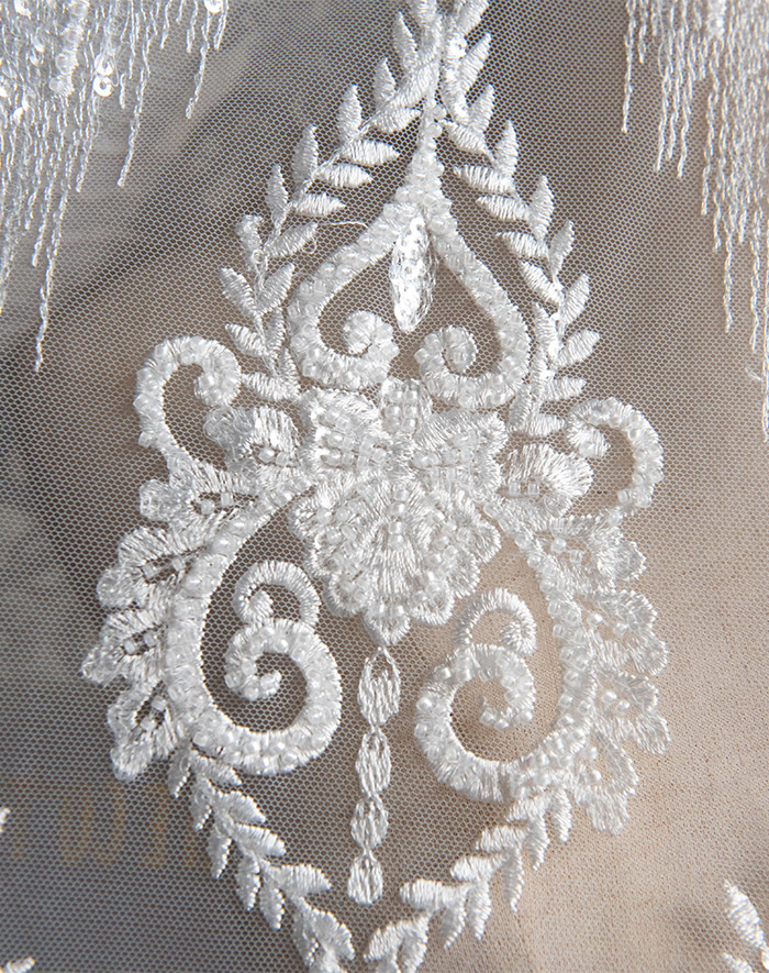 Portrait wedding & Beads embroidery