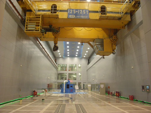 The impervious project in the power supply hydropower station of Three Gorges Project on Yangtze River of China