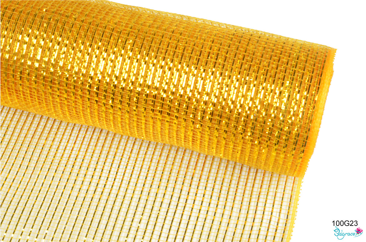 100 Regular Metallic Mesh 100G23 Gold Metallic In Dk.Gold  PP