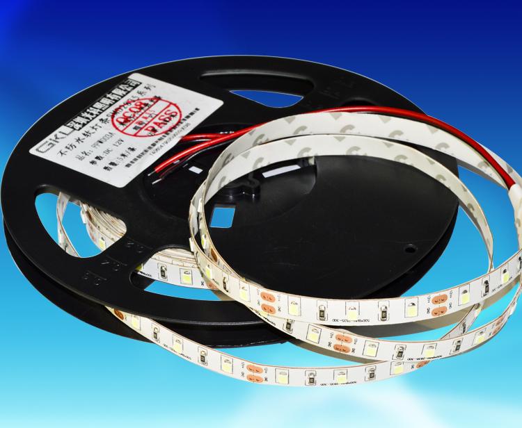 FFW003A,8*5000mm每米60燈2835貼片裸板不防水柔性燈帶DC12V