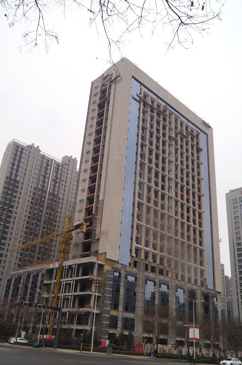 旗远·锦上项目二期外装饰幕墙工程