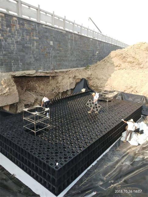 汕尾_公園綠地雨水收集利用系統模塊水池工程項目
