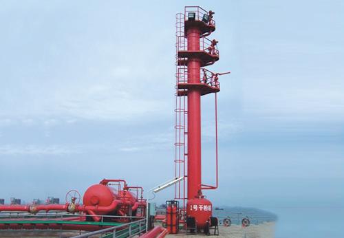 钦州油库码头消防设施