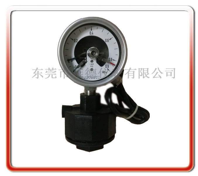60MM徑向PP隔膜電接點壓力表