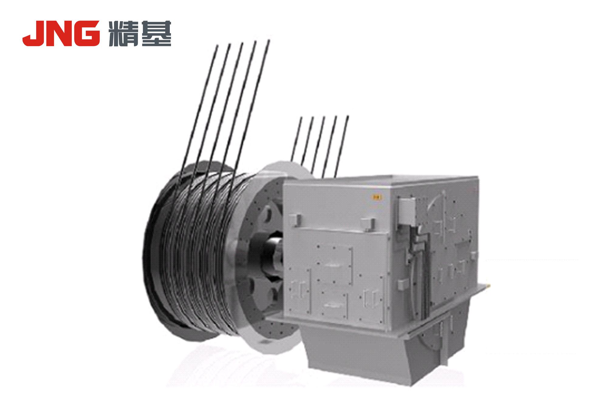 礦井提升機用三相永磁同步變頻電動機