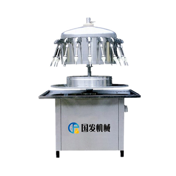 Semi-automatic siphon filling machine