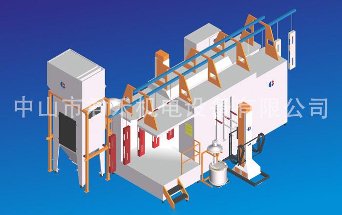 FRS-P三明治單級濾芯回收噴房系列