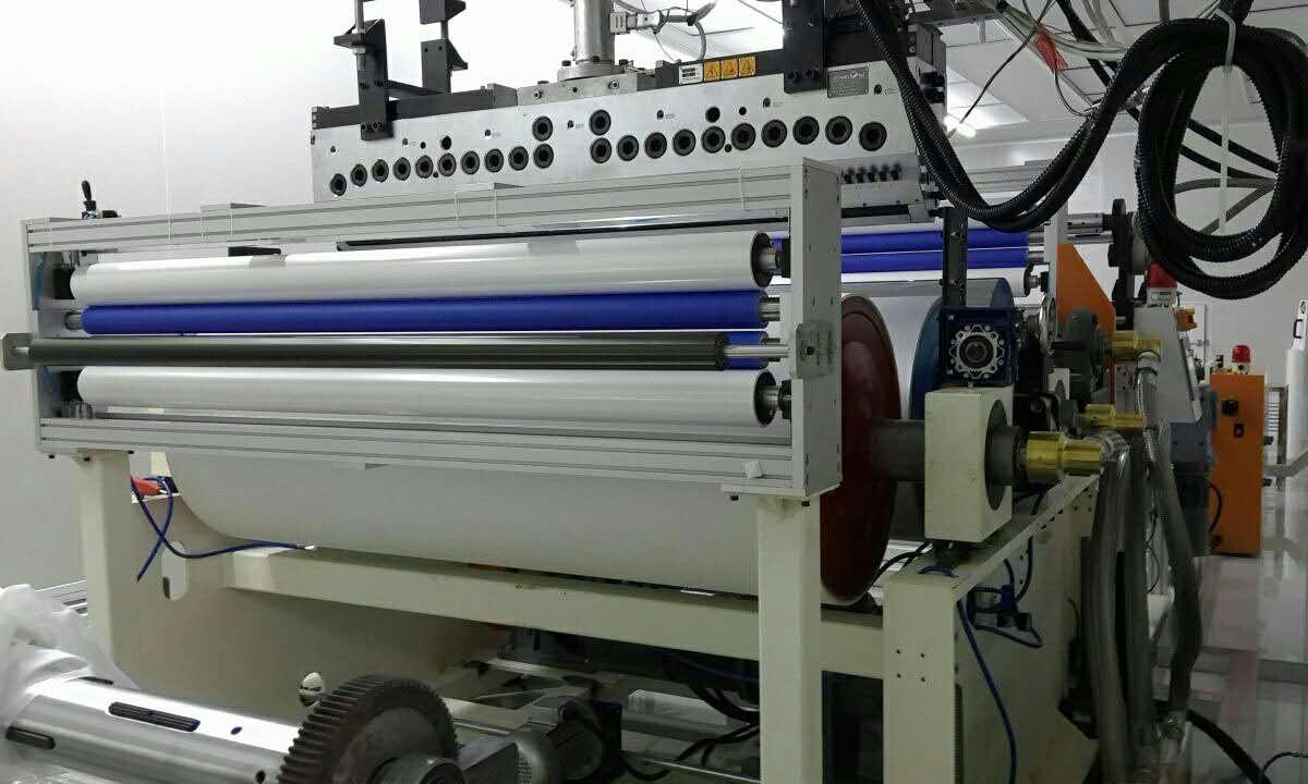 EVA電子膜生產線