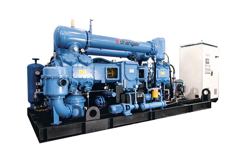 M系列对置平衡水冷无油中高压空压机