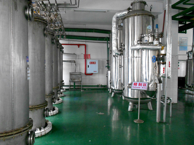 Cleaner production audit project of Wulong Xiannushan natural pigment company