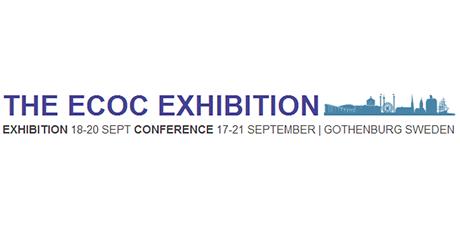 参加于2017年9月18号到20号在瑞士哥德堡举行的ECOC,光恒展会号为491。
