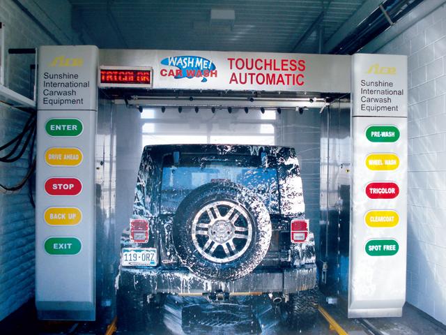 免接觸式洗車機系列(外銷機型)