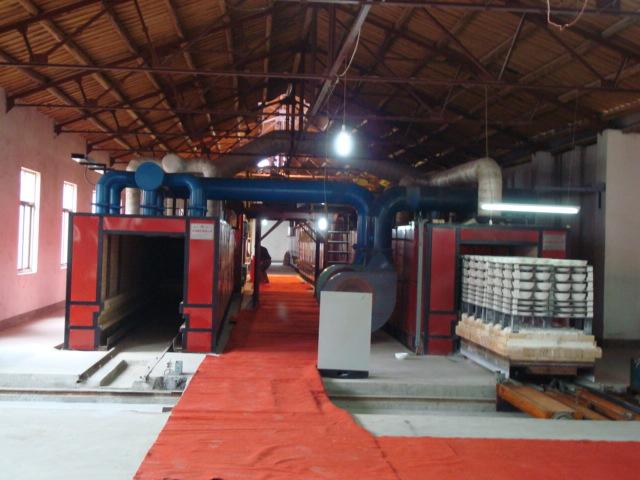 52米天然氣日用瓷隧道窯