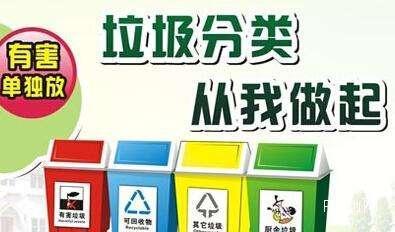 新星集團積極倡導垃圾分類