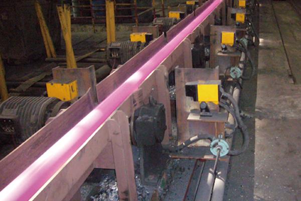 热轧钢管长度测量系统