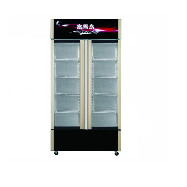 Double Door Showcase Cooler