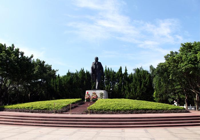 莲花山公园广场