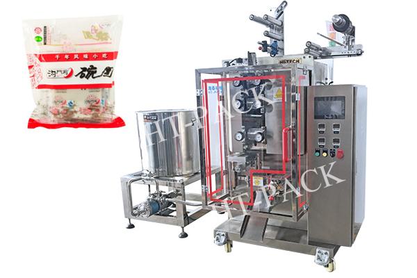 全自动真空液体包装机 袋装凉皮碗团包装机