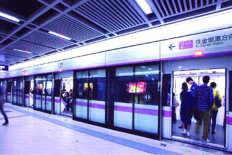 武漢首條地鐵(2 號線)地下工程