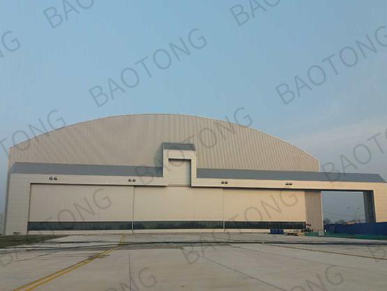 空中客車(天津)總裝有限公司 A330 噴漆機庫