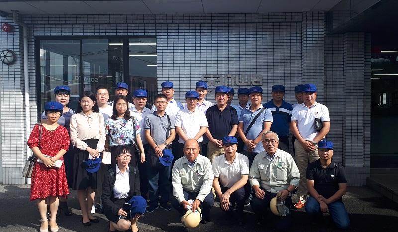 集團公司百名骨干員工赴日本考察學習