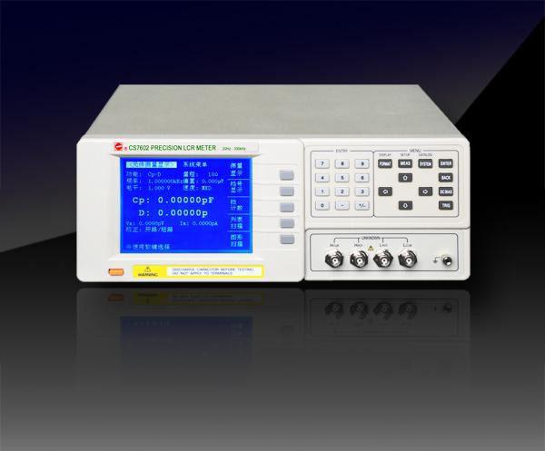 精密寬頻全數字化 LCR 電橋 CS7620/ CS7610/ CS7605/ CS703/ CS7602