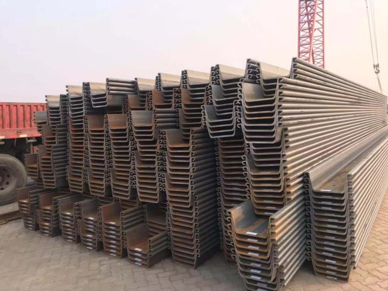 黃驊港打拔鋼板樁