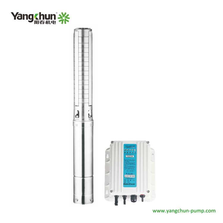 4TY-SP不銹鋼太陽能深井泵