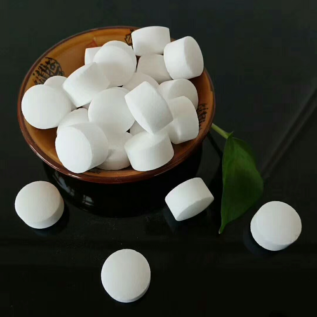 Soft water salt (white ball)