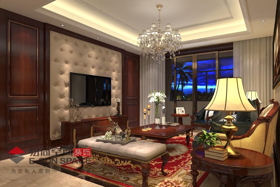 東港國際2號樓錢先生家雅居--歐式風格