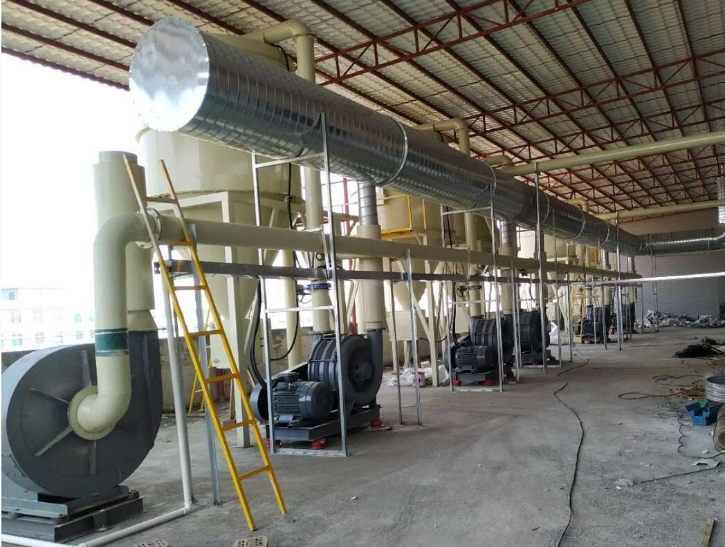 PCB中央吸塵工程案例