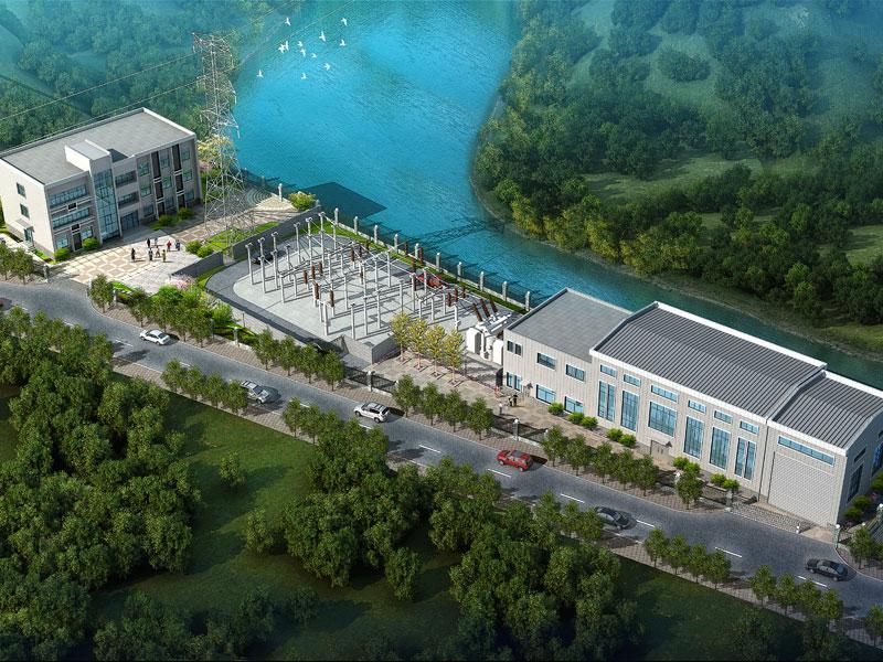 重慶市萬州區新長灘電站發電廠房