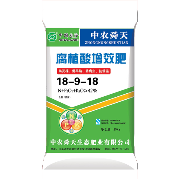 Humic acid synergistic compound fertilizer