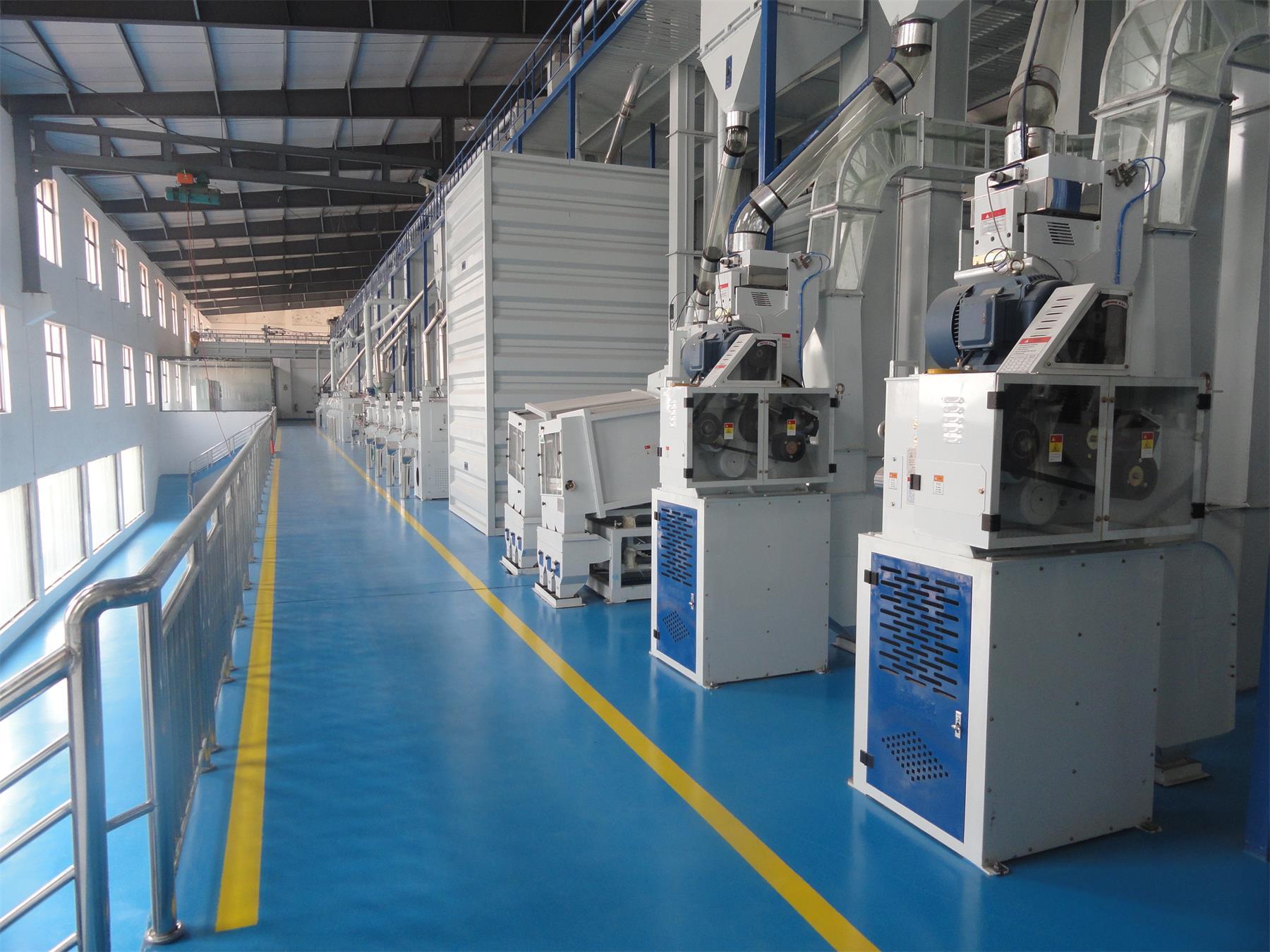 江西日產300噸碾米成套工程
